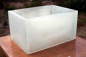 Architectural Cast Glass Block
